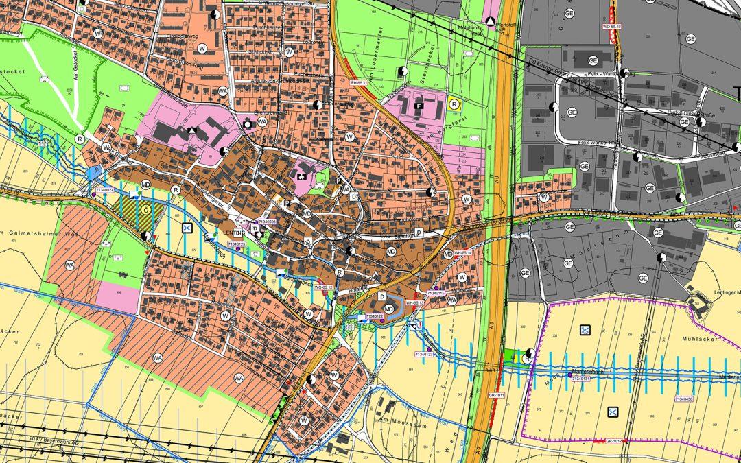 Neuaufstellung Flächennutzungsplan Lenting mit integriertem Landschaftsplan