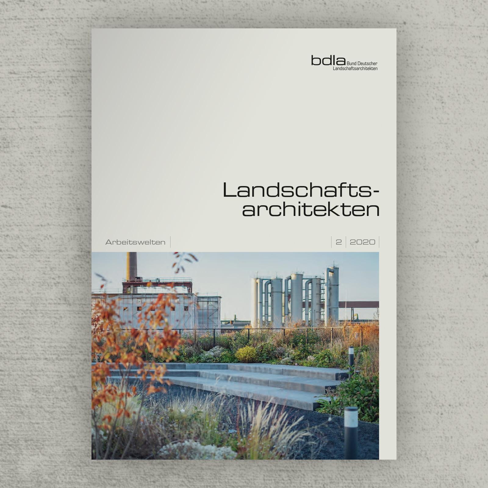 """BDLA: Beitrag """"Minimalistisches Design"""" am Beispiel Audi AG Ingolstadt"""