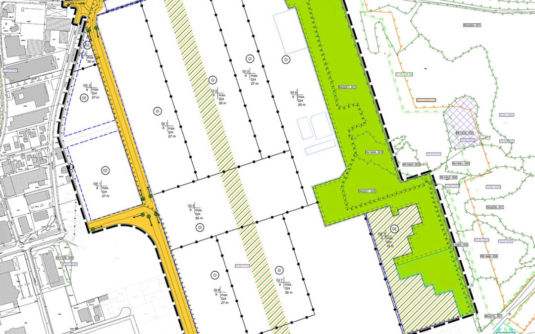 """Bebauungs- und Grünordnungsplan 177T """"IN-Campus"""""""