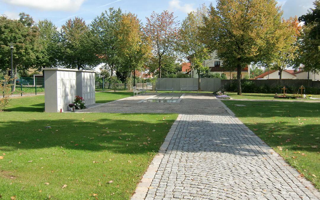 Erweiterung Friedhof Großmehring
