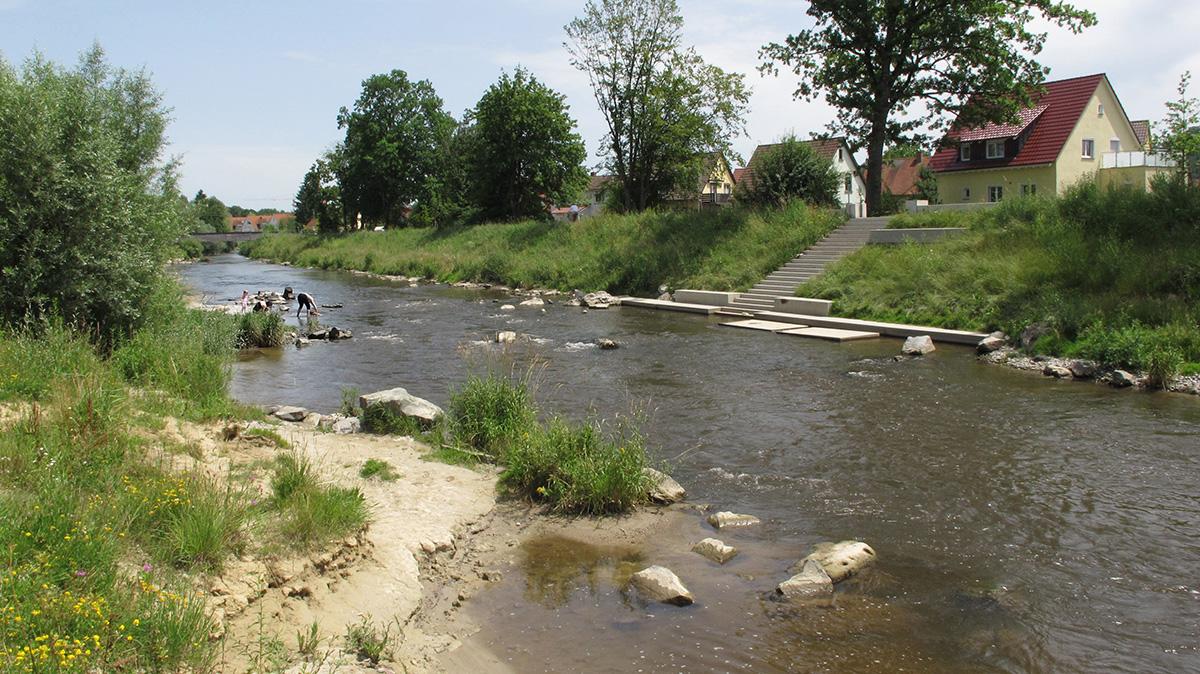 Städtebaulich-landschaftsplanerisches Gestaltungskonzept / Hochwasserschutzes an der Schussen – Ravensburg