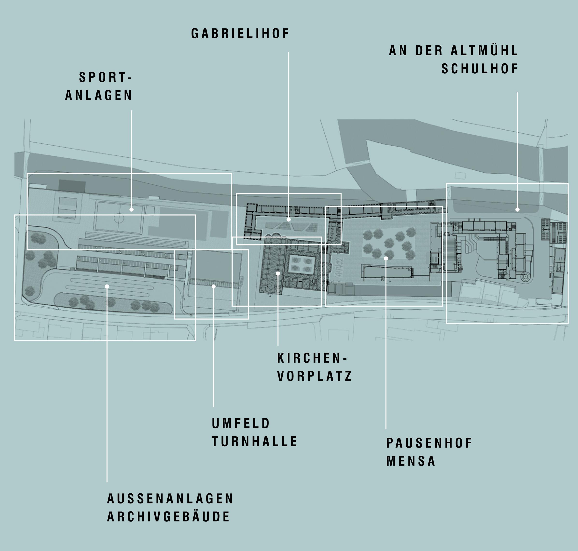 Realschulen in Eichstät-Rebdorf – BA 1 Neubau eines Archivgebäudes mit Bushaltestelle und Parkplätzen