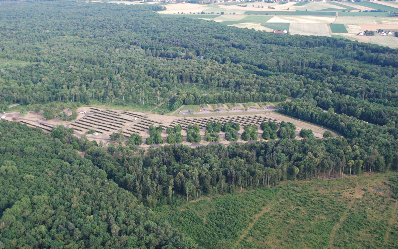 Solarpark Konversionsfläche Munitionsdepot Weichering